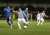 Kenny McLean in the St Mirren v Inverness Caledonian Thistle Clydesdale Bank Scottish Premier League match played at St Mirren Park, Paisley on 30.1.13.