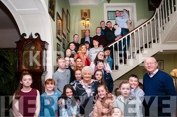 70th Birthday: Esther Foley, Moyvane celebrating her 70th birthday with her family at the Listowel Arms Hotel on Saturday evening last