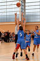 Basketball NZ U13 Central Regional Championships at Walter Nash Centre, Lower Hutt, New Zealand on Saturday 13 October 2018. <br /> Photo by Masanori Udagawa. <br /> www.photowellington.photoshelter.com