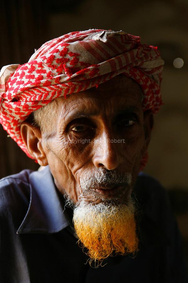 .Abdullah, bedouin  living on the Diksam plateau. Socotra. Yemen