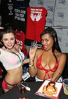 Zoey Foxx, Lila Jordan at AVN Expo, <br /> Hard Rock Hotel, <br /> Las Vegas, NV, Friday January 17, 2014.
