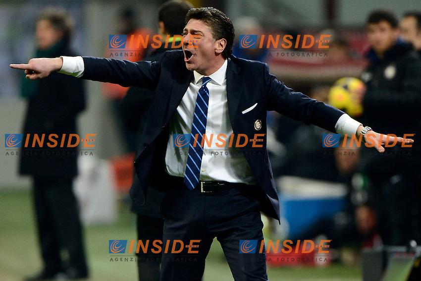 Walter Mazzarri Inter<br /> Milano 09-02-2014 Stadio Giuseppe Meazza - Football 2013/2014 Serie A. Inter - Sassuolo Foto Giuseppe Celeste / Insidefoto