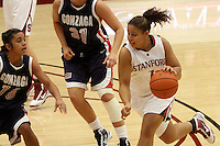 STANFORD, CA - NOVEMBER 29:  Grace Mashore of the Stanford Cardinal during Stanford's 105-74 win over the Gonzaga Bulldogs on November 29, 2009 at Maples Pavilion in Stanford, California.