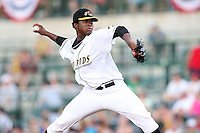 Bowling Green Hot Rods Alexander Colome during the Midwest League All Star Game at Parkview Field in Fort Wayne, IN. June 22, 2010. Photo By Chris Proctor/Four Seam Images
