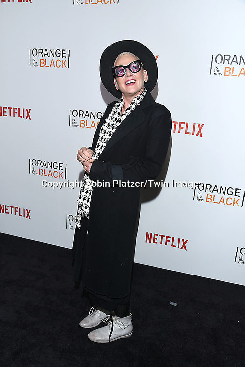 Lori Petty attends NexFlix's &quot;Orange is the New Black&quot; 4th Season New York Premiereon June 16, 2016 at the SVA Theatre in New York City, NY, USA.<br /> <br /> photo by Robin Platzer/Twin Images<br />  <br /> phone number 212-935-0770