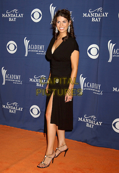 LAUREN LUCAS.The 40th Annual Academy of Country Music Awards (ACM) held at Mandalay Bay Resort & Casino, Las Vegas, Nevada, USA, 17 May 2005..full length black dress.Ref: ADM.www.capitalpictures.com.sales@capitalpictures.com.©Laura Farr/AdMedia/Capital Pictures.