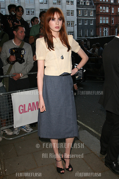 Karen Gillan arriving for the 2011 Glamour Awards, Berkeley Square, London. 07/06/2011 Picture by: Alexandra Glen / Featureflash
