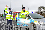 LEARNER DRIVERS: Garda Paddy Keane and Sgt Gearoid Keating launching the Road Policing Operation Plan 2012 with national focus on learner drivers on 1st and 2nd of March.
