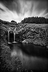 Long exposure waterfall at Glen Brittle, Skye.