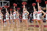 MADISON, WI - NOVEMBER 8: The dance team of the Wisconsin Badgers performs during the game against the Carroll College Pioneers at the Kohl Center on November 8, 2006 in Madison, Wisconsin. The Badgers beat the Pioneers 81-61. (Photo by David Stluka)