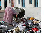 these women were looking for new clothes in Zarzis Tunisia
