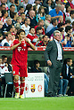 (L-R) Takashi Usami, Jupp Heynckes (Bayern), JULY 27, 2011 - Football / Soccer : Audi Cup Final match between FC Bayern Muenchen 0-2 FC Barcelona at Allianz Arena in Munich, Germany. (Photo by Enrico Calderoni/AFLO SPORT) [0391]