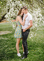 Vortic Watches Spring 2018 shoot in Denver, Colorado, Saturday, April 28, 2018. Models include Alexa Lehrer and Stephen Miley.<br /> <br /> Photo by Matt Nager