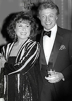 Steve Lawrence and Eydie Gorme 1984<br /> Testimonial Dinner to William B. Williams<br /> Photo By John Barrett/PHOTOlink