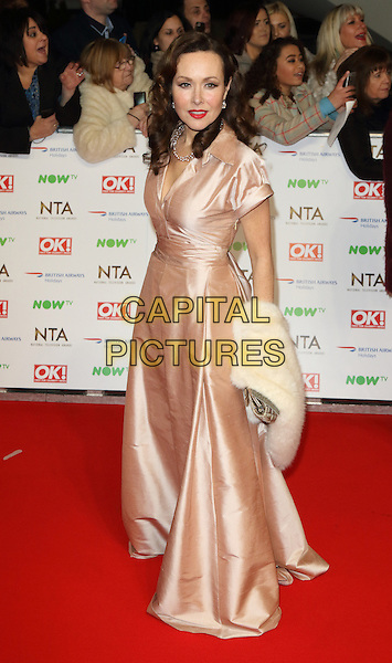 LONDON, ENGLAND - Amanda Mealing at the National Television Awards 2016 Red Carpet arrivals at the O2 Arena on January 20th 2016 in London, England<br /> CAP/ROS<br /> &copy;ROS/Capital Pictures