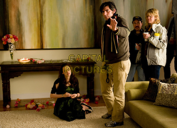KRISTEN STEWART, Director CHRIS WEITZ, Ist AD MIKE TOPOOZIAN and Make-up artist ROBIN MATTHEWS.<br /> on the set of The Twilight Saga: Breaking Dawn - Part 2 (2012) <br /> *Filmstill - Editorial Use Only*<br /> FSN-D<br /> Image supplied by FilmStills.net