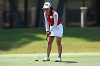 SINGAPORE - MARCH 03: Minjee Lee of Australia on the 5th green during the final round of the HSBC Women's World Championship 2019 at Sentosa Golf Club - Tanjong Course, Singapore on March 03, 2019.<br /> .<br /> .<br /> .<br /> (Photo by: Naratip Golf Srisupab/SEALs Sports Images)<br /> .<br /> Any image use must include a mandatory credit line adjacent to the content which should read: Naratip Golf Srisupab/SEALs Sports Images