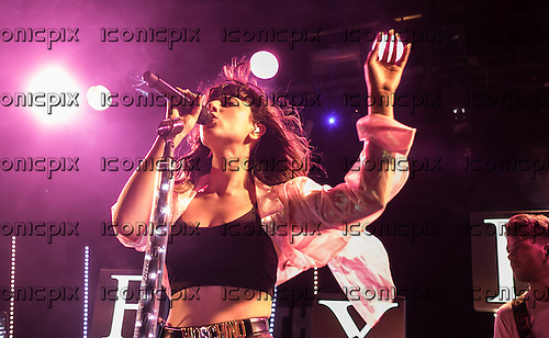 FOXES (aka Louise Rose Allen) - performing live at the Leadmill in Sheffield UK - 23 May 2014.  Photo credit: Anthony Woolly/IconicPix