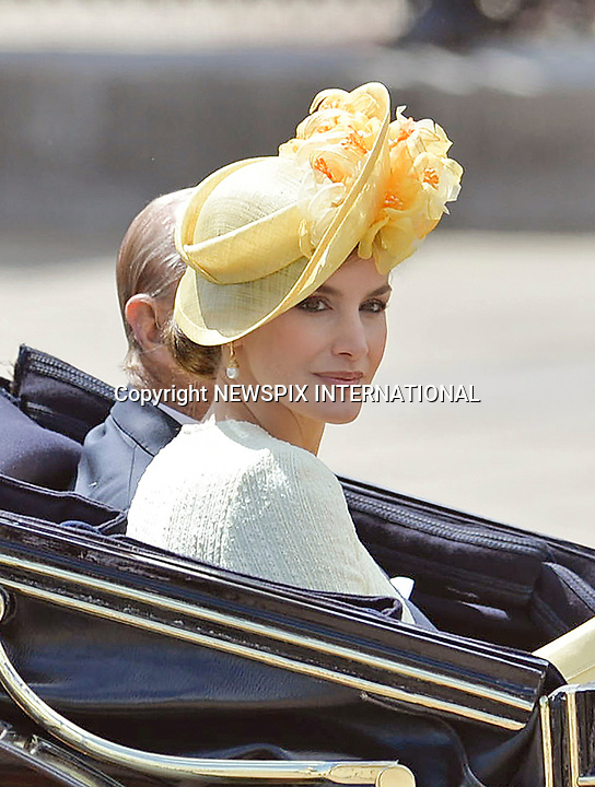 Queen Letizia & King Felipe  Ceremonial Welcome, London