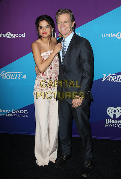 Los Angeles, CA - FEBRUARY 27: Selena Gomez, William H. Macy Attending Unite4good And Variety Host 1st Annual Unite4:humanity Event, Held at Sony Pictures Studios California on February 27, 2014.  <br /> CAP/MPI/RTNUPA <br /> &copy;RTNUPA/MediaPunch/Capital Pictures