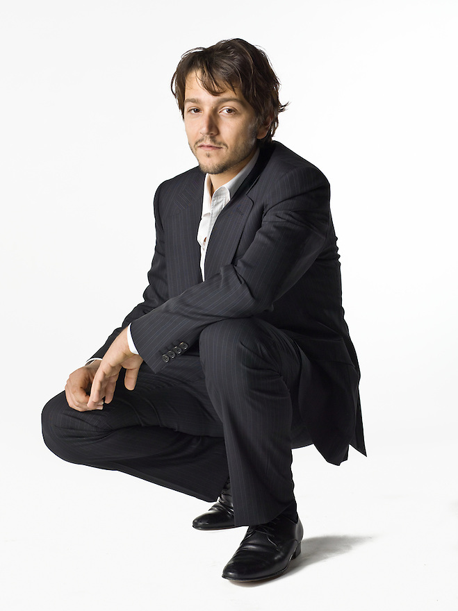 Mexican Actor Diego Luna at the PODER Magazine Philanthropy Symposium on March 12, 2008