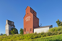 Grain elevators, Creston, British Columbia, Canada