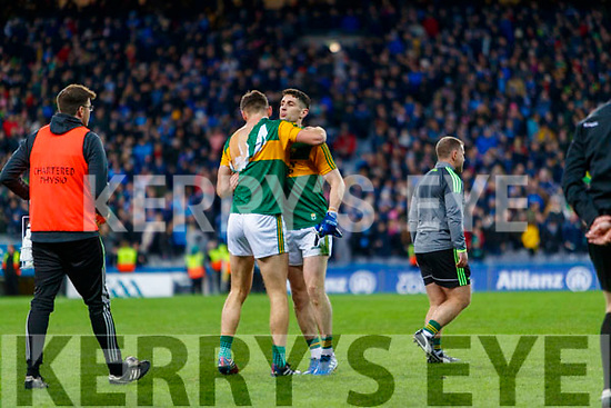 David Clifford, Kerry jersey is torn after after the Allianz Football League Division 1 Round 1 match between Dublin and Kerry at Croke Park on Saturday.