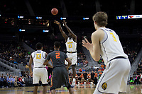LAS VEGAS, NV - March 8, 2017: Cal Bears Men's Basketball vs. the Oregon State Beavers.  Final Score: Cal Bears 67, Oregon State Beavers 62