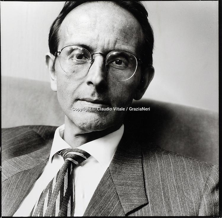 1996, Francisco Varela, neuroscientist, biologist © Claudio Vitale / GraziaNeri