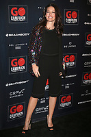 LOS ANGELES - OCT 20:  Evangeline Lilly at the GO Campaign Gala at the City Market Social House on October 20, 2018 in Los Angeles, CA