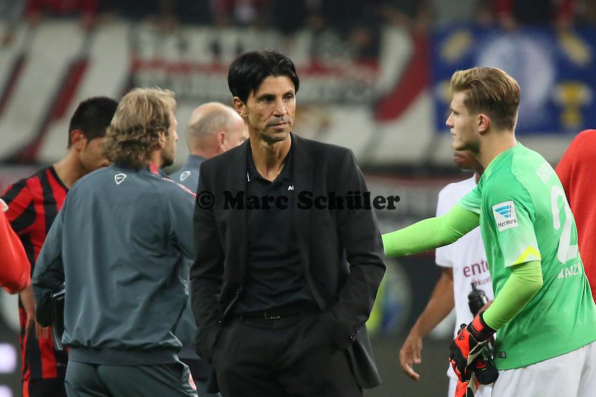 Sportdirektor Bruno Hübner (Eintracht) - Eintracht Frankfurt vs. 1. FSV Mainz 05, Commerzbank Arena