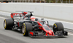 Kevin Magnussen (DEN) Haas VF-17  at Formula One Testing, Day 2, Circuit Barcelona Catalunya
