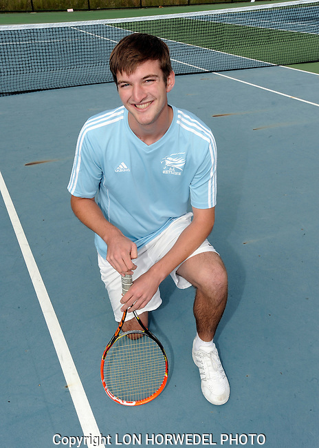 Skyline High School boy's varsity tennis team, 10-7-14.