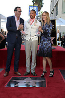 LOS ANGELES - SEP 24:  Charlie Collier, Terrence Howard, Dana Walden at the Terrence Howard Star Ceremony on the Hollywood Walk of Fame on September 24, 2019 in Los Angeles, CA