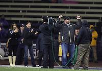 Oct 30, 20010:  Washington alumni Benji Olson was honered during the third quarter against Stanford.  Stanford defeated Washington 41-0 at Husky Stadium in Seattle, Washington...
