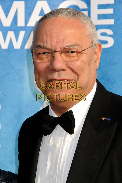COLIN POWELL .at The 42nd Annual NAACP Awards held at The Shrine Auditorium in Los Angeles, California, USA,.March 4th 2011..arrivals portrait headshot black bow tie glasses smiling .CAP/ADM/BP.©Byron Purvis/AdMedia/Capital Pictures.