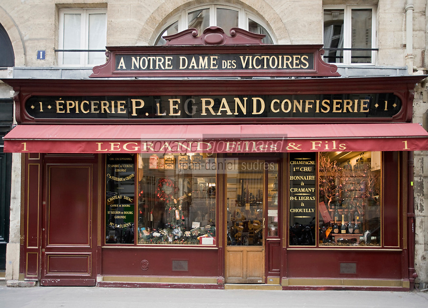 Europe/France/Ile-de-France/75002/Paris : Epicerie fine, Caviste 1 rue de la Banque