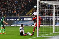Chance Jetro Willems (Eintracht Frankfurt) - 03.11.2017: Eintracht Frankfurt vs. SV Werder Bremen, Commerzbank Arena
