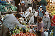 May 7th, 1987. In Melilla, Spanish Morocco. This is market scene, in Calle General Margallo, which is the most important market of the city.