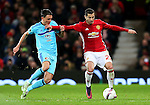 Henrikh Mkhitaryan of Manchester United attacks during the UEFA Europa League match at Old Trafford, Manchester. Picture date: November 24th 2016. Pic Matt McNulty/Sportimage