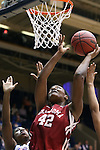 22 March 2014: Oklahoma's Kaylon Williams. The DePaul University Blue Demon played the University of Oklahoma Sooners in an NCAA Division I Women's Basketball Tournament First Round game at Cameron Indoor Stadium in Durham, North Carolina. DePaul won the game 104-100.
