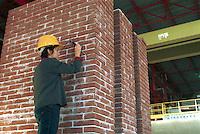 - EUCENTRE - European Centre for Earthquake Engineering, laying of the sensors on a structure in masonry....- EUCENTRE, Centro Europeo per l'Ingegneria Antisismica, posa dei sensori su una struttura in muratura