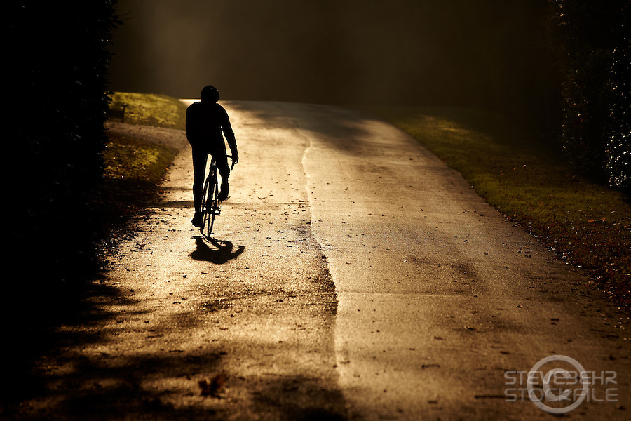 Sam Behr  riding Carrera road bike , , Surrey  , November 2011 pic copyright Steve Behr / Stockfile