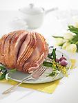 A sliced country ham