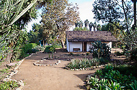 Montanez Adobe Building in San Juan Capistrano California