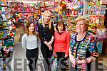 Staff at Caballs: Stephanie Fitzell, Sharon Sheehan, Deirdre O'Brien with Anne Laide, pictured on Tuesday last.
