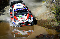 13th March 2020, Guanajuato, Mexico; WRC Rally of Mexico;   Sebastien Ogier FRA and Julien Ingrassia FRA - Toyota Yaris WRC