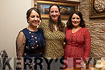 Enjoying the evening in Bella Bia on Saturday<br /> L to r: Linda Brown (Fenit), Elaine and Margaret Crowley (Spa).