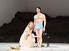 Tanztheater Wuppertal Pina Bausch <br /> &lsquo;Masurca Fogo&rsquo; <br /> at Sadler's Wells, London, Great Britain <br /> rehearsals<br /> 8th February 2017 <br /> <br /> Tanztheater Wuppertal Pina Bausch: Masurca Fogo<br /> &nbsp;Julie Shanahan<br /> Masurca Fogo, created by the endlessly inventive Pina Bausch, returns to Sadler&rsquo;s Wells from 9 - 12 February 2017. The piece is performed by the legendary Tanztheater Wuppertal Pina Bausch, a Sadler&rsquo;s Wells International Associate Company.<br /> <br /> <br /> <br /> <br /> Performers:<br /> Regina Advento, Pablo Aran Gimeno, Emma Barrowman, Rainer Behr, Andrey Berezin, Michael Carter, &Ccedil;ağdaş Ermis, Silvia Farias Heredia, Jonathan Fredrickson, Ditta Miranda Jasjfi, Daphnis Kokkinos, Cristiana Morganti, Breanna O&rsquo;Mara, Nazareth Panadero, Julie Shanahan, Oleg Stepanov, Julian Stierle, Fernando Suels Mendoza, Aida Vainieri, Ophelia Young.<br /> <br /> Photograph by Elliott Franks <br /> Image licensed to Elliott Franks Photography Services