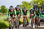 An Post - Chainreaction , Stage 2: Team Time Trial, 62th Olympia's Tour, Netterden, The Netherlands, 13th May 2014, Photo by Thomas van Bracht / Peloton Photos